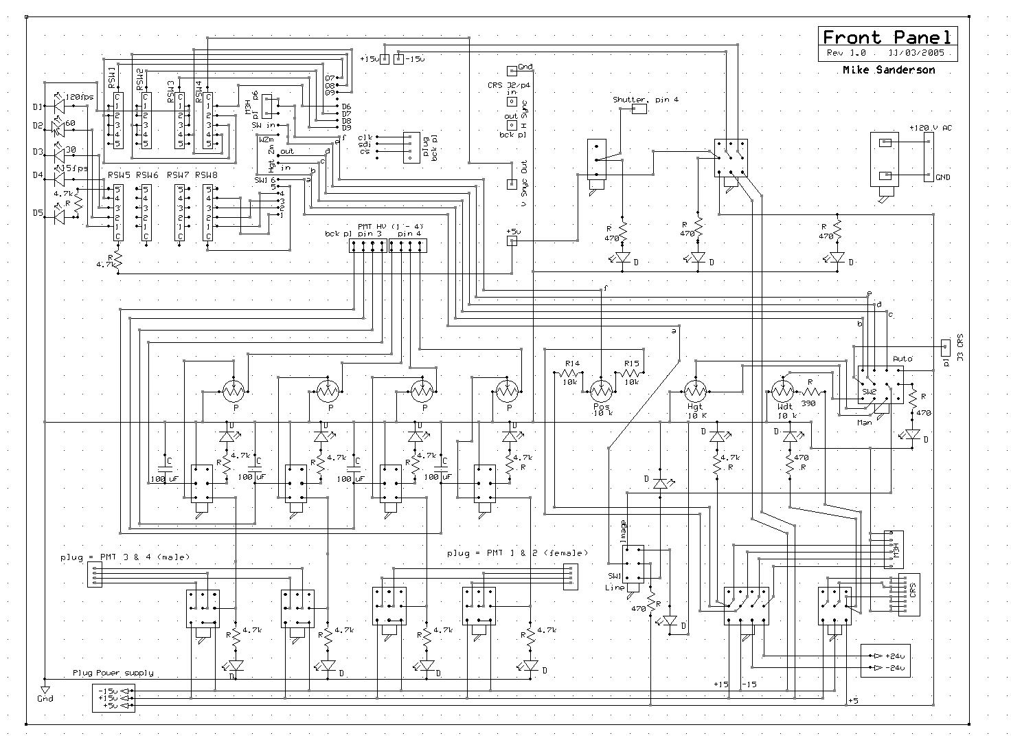 Wiring diagram in this sel generator control panel get