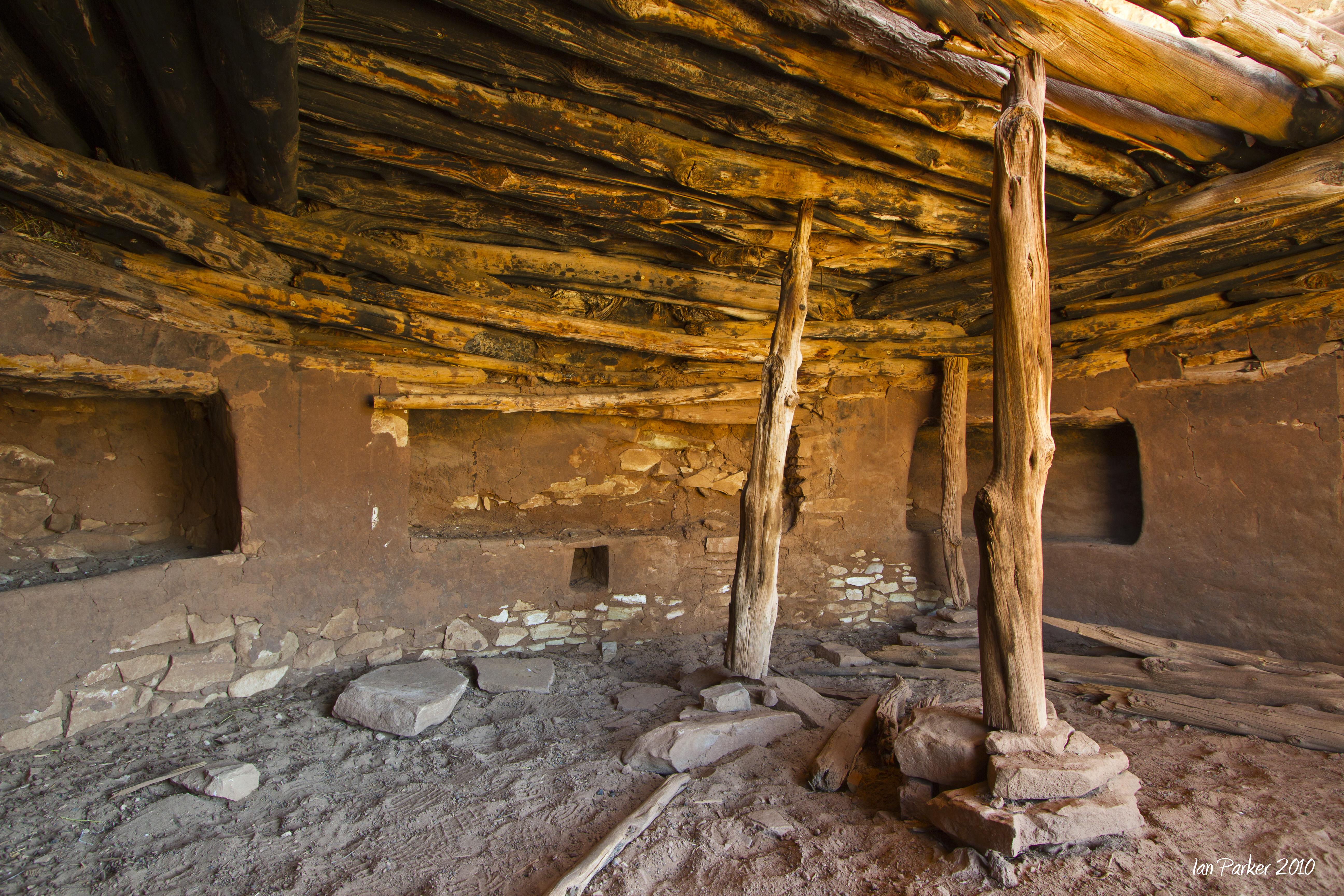 Evanescent Light Anasazi Ruins