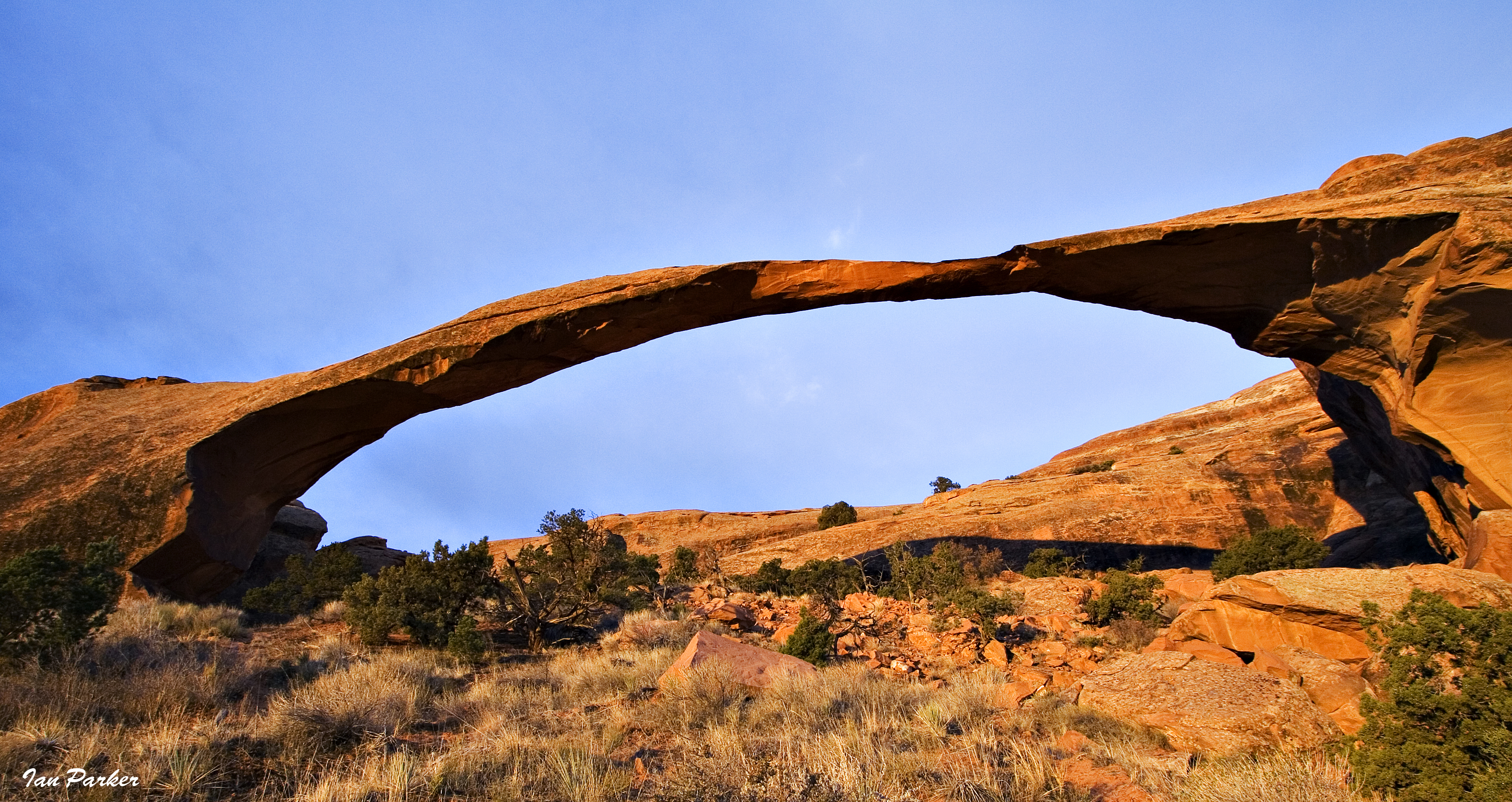 Evanescent Light Arches National Park